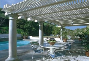 Aluminum Pergola in Cypress by Lone Star Patio Covers