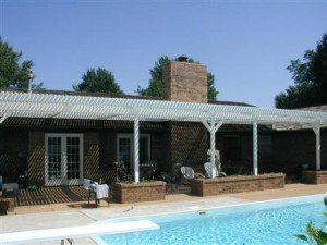 Aluminum Pergola in Houston TX