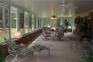 Houston Patio Cover Options - Glass -Walls