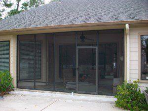 Porch Enclosure in Houston TX
