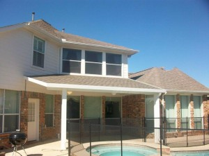 Covered Patio Cover & Matching Shingles