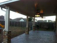 Aluminum Patio Cover in Magnolia