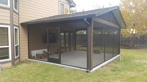screened patio cover conroe tx