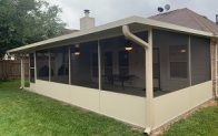 screening in a patio cover waller tx