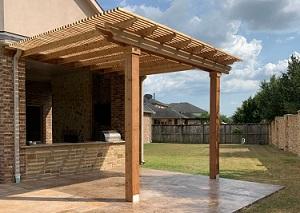 Wood Pergola Alvin TX